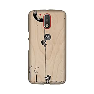 PrintRose Moto G4 Plus back cover - High Quality Designer Case and Covers for Moto G4 Plus astronauts