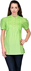 Belle Casual Short Sleeve Solid Women's Top (BC 66_42)
