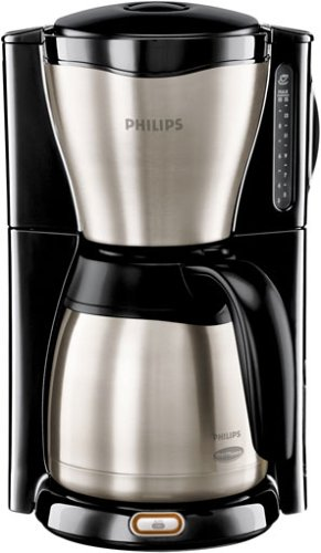 haushaltsger te philips hd 7546 20 gaia therm thermos kaffemaschine. Black Bedroom Furniture Sets. Home Design Ideas