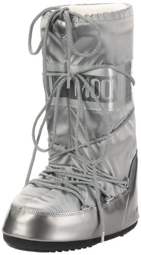 Moon Boot, Moon Boot Glance, Stivali, Donna, Argento 002, 31/34