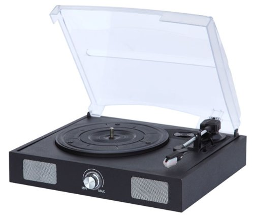 Usb Turntable With Built-In Speakers -Turn Old Vinyl To Mp3 - By Metro Fulfillment House
