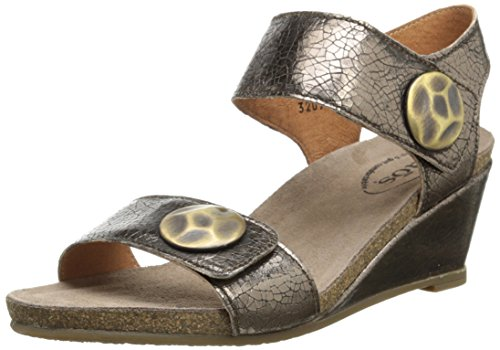Bronze Wedge Sandals front-1028558