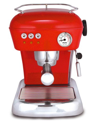 ASCASO DREAM espresso machine love red (Ascaso Dream compare prices)