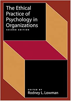 Ethical Practice of Psychology in Organizations price comparison at Flipkart, Amazon, Crossword, Uread, Bookadda, Landmark, Homeshop18