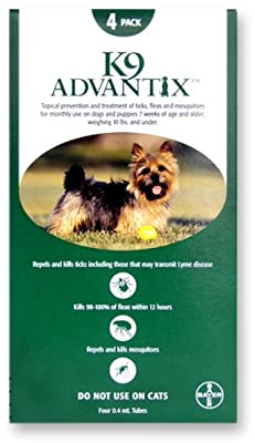 K9 Advantix Flea Control for Dogs