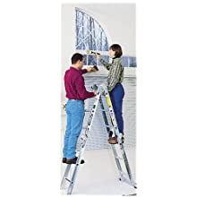 Werner M1-6-12 300-Pound Duty Rating Aluminum Folding Multi-Master Articulated Ladder, 12-Foot