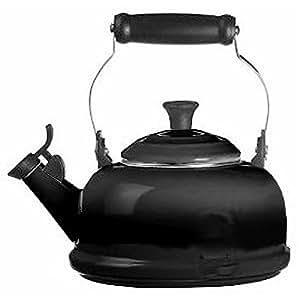 le creuset 92009500140000 bouilloire tea time noir eb ne 1. Black Bedroom Furniture Sets. Home Design Ideas