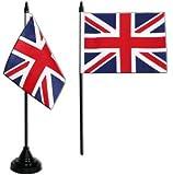 Digni® Drapeau de table Royaume-Uni, mini drapeau - 10 x 15 cm