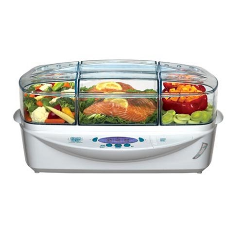 Electronic Food Steamer ~ Food steamer richard simmons est steam heat electronic