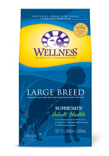 Wellness Super5Mix Dry Dog Food, Adult Large
