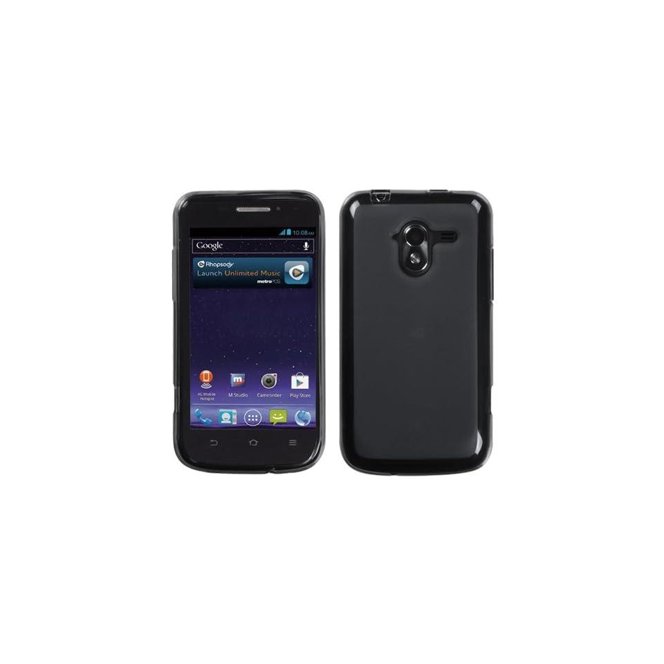 MYBAT Semi Transparent Smoke Candy Skin Cover (Rubberized) for ZTE N9120 (Avid 4G)