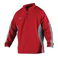 Buy Rawlings Boy's Long Sleeve Wind Breaker Jacket by Rawlings