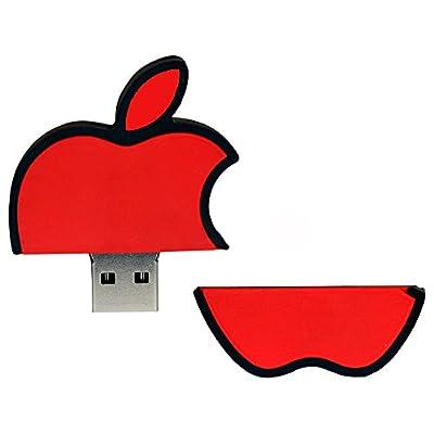 Pen Drive Red Apple Logo Shape 16 GB USB 2.0 Pen Drive ZT14032