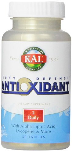 Kal Body Defense Antioxidant Tablets, 50 Count