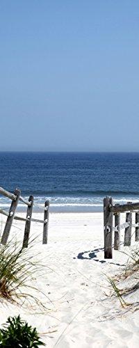 Wandposter mit Strand