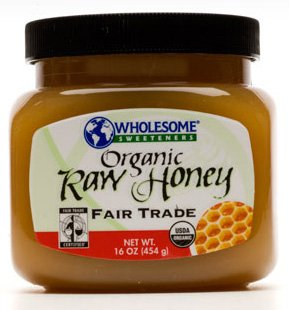 Wholesome Sweeteners Organic Raw Honey, 16oz