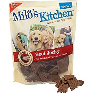 Milo's Kitchen Beef Jerky Dog Treats