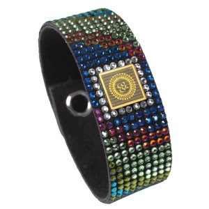 Swarovski Bhagwad Gita Wrist Band (WB1BG)