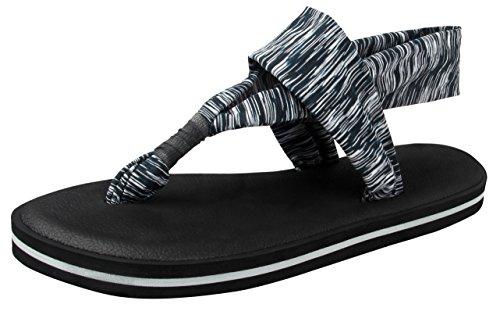 Santiro Womens Flip Flops for Women Sandals Slippers Comfortable Lightweight Yoga Mat Sole Sandles Shoes SSD002G3-40