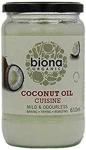 Biona Organic Coconut Oil Cuisine 610 ml (Pack of 3)
