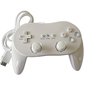 Generic New Classic Pro Controller For Nintendo Wii/WiiU White
