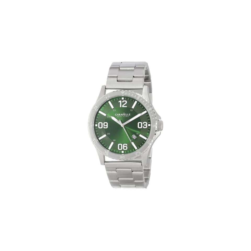 Caravelle NY Mens 43B129  Stainless Steel Bracelet Watch
