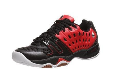 Ektelon T-22 Low Men's Racquetball Shoe-Red/Black