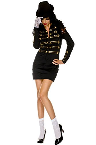 Rave Wonderland Women's Jackson Victory Gloved Outfit Large (Michael Jackson Outfits)