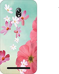 Go Hooked Designer Soft Back cover for ASUS Zenfone Go ZC500TG with Free Mobile Stand (Assorted Design)