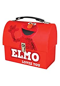 Half Moon Bay - Elmo Loves You - Tin Lunch Tote