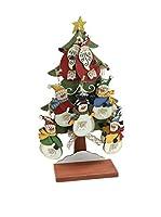 Decoracion Navideña Set Colgante decorativo 24 Uds. Árbol Navidad Papá Noel