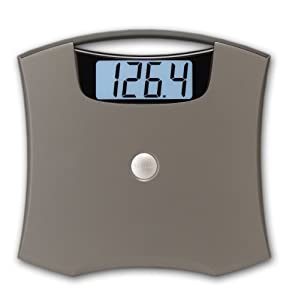 """Taylor 7405 Nickel Accented Lithium Scale with 2"""" LCD Readout"""