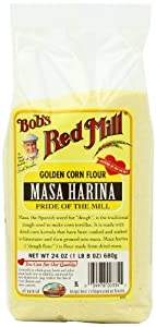 Bob's Red Mill Flour Corn Masa Harina, 24-ounces (Pack of4)