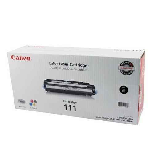 Genuine CANON Canon (CRG-111) Black Toner (6,000 Yield), Part Number 1660B001AA at Sears.com