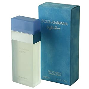 dolce gabbana light blue for women perfume collection