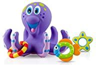 Nuby Bathtime Fun Bath Toys, Octopus…