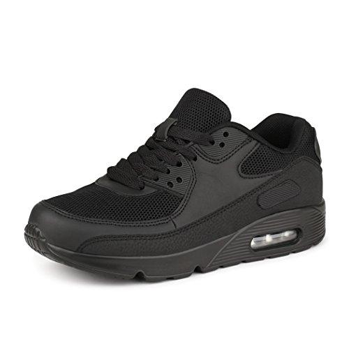 best-boots-unisex-damen-herren-sneaker-laufschuhe-turnschuhe-schwarz-1249-grosse-38
