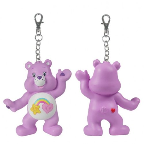 Care bears: Share A Bear Series 2 - Purple Best Friend Bear says Hi Clip (Best Friend Care Bear compare prices)