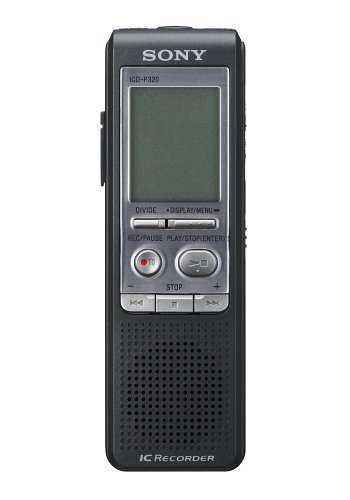 Sony Icdp320 - 64Mb Digital Voice Recorder W/ Pc Conectivity