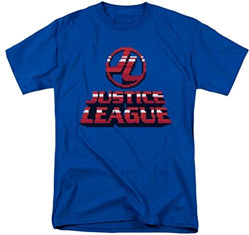 Justice League 8 Bit JL T-Shirt