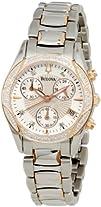 Bulova Womens 98R149 Anabar Chronograph Watch