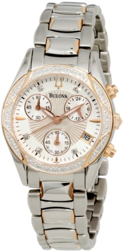 Bulova Women's 98R149 Anabar Chronograph Watch
