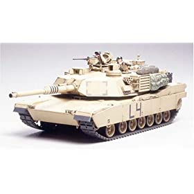 M1A2 Abrams Main Battle Tank Iraq Military Model Kit