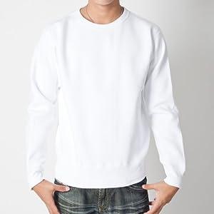 (ティーシャツドットエスティー) Tshirt.st 厚手 + 裏起毛で暖かい 無地でシンプルな マックスヘビー トレーナー 12.4oz