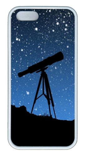 Sky Telescope Custom Iphone 5S/5 Case Cover ¨C Tpu ¨C White