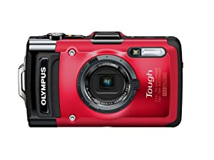 Olympus Stylus Tg-2 Ihs Digital Camera With 4x Optical Zoom And 3-inch Lcd Red