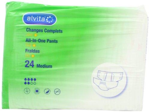 Alvita incontinenza All in One-Pantaloni Extra giorni, confezione da 24