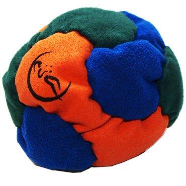 pro-footbag-aka-hacky-sack-freestyle-6-panneaux-orange-bleu-vert-parfait-pour-les-stands-et-les-reta