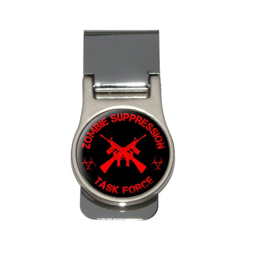Zombie Suppression Task Force - AK-47 - Biohazard - Red Money Clip
