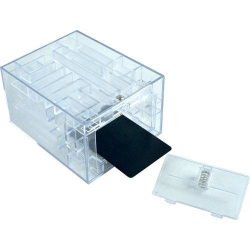 Maze Brainteaser Puzzle Unlocks Gift Card Compartment - 1